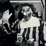 Ronald Macdonald - paedophile beverage-holder chic