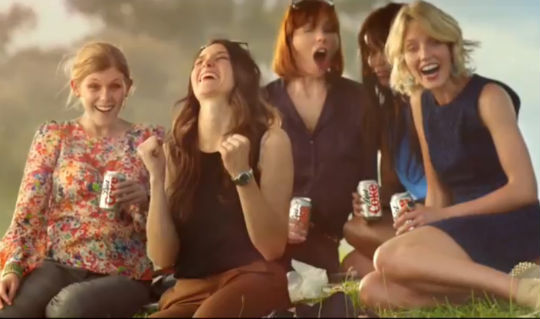 diet coke gardener advert